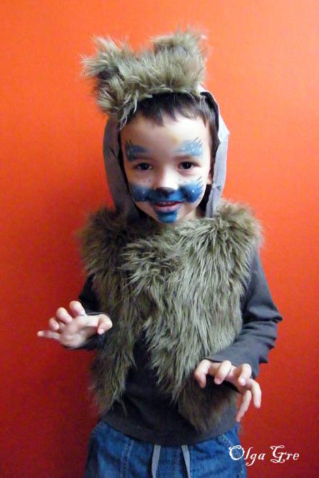 Выкройка костюма волка своими руками