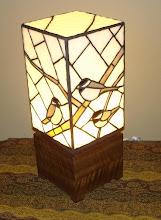 Chickadee light box.