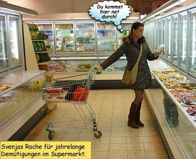 Svenja als Shopper from Hell bei Achim Freund Kiel Holtenauer Strasse