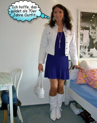 Svenjas Outfit zur Frauen Lesben Transgender Disco in der Hansa48