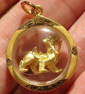 Chinese dragon amulet for good luck