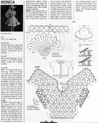 Esquemas De Vestidos De Ollas En Crochet