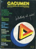 Cacumen. Revista lúdica de cavilaciones