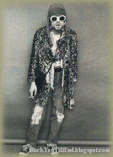 Kurt Cobain wild