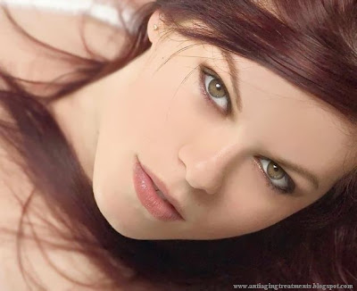 Smooth skin woman