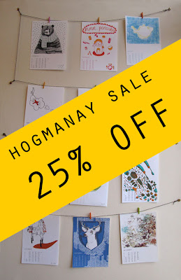 A Year in Prints: Hogmanay Sale