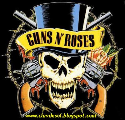 Guns N' Roses na Clave de Sol