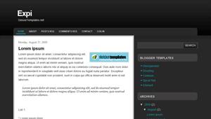 Expi free templates blogger