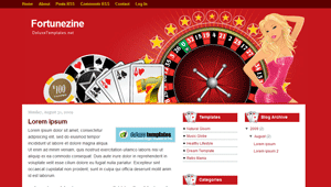 Fortunezine Blogger Template