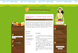 Party Food and Games