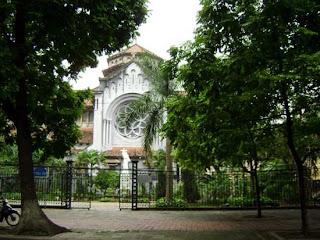 Cua Bac church- the famous chuch in Hanoi