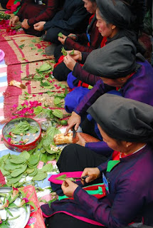 Eat Betel and areca in vietnam culture