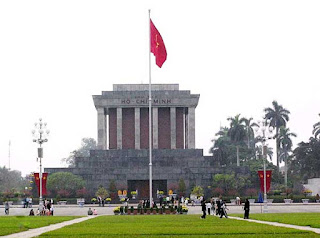 Ho Chi Minh shrine