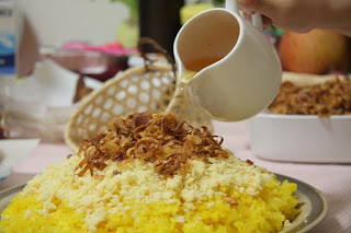 Xeo steamed glutinous rice