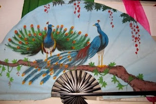 Chang Son village -  the famous village make traditional fan in Hanoi