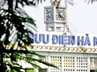 Hanoi clock- save mark time of the capital