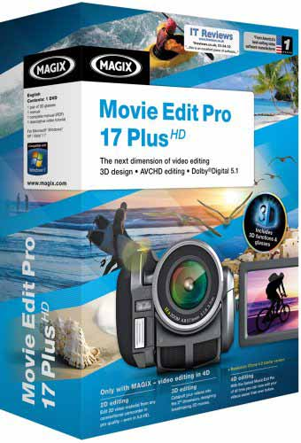 Magix Movie Edit Pro. Magix Movie Edit Pro 17: first