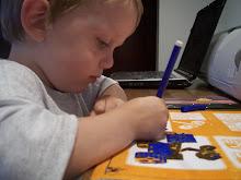 Ryan - our little artist