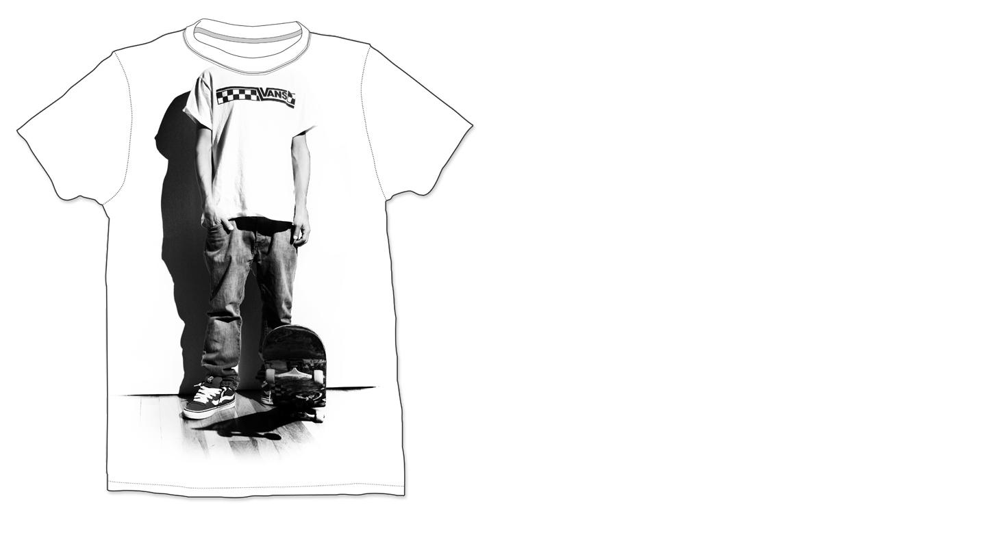 Design t shirt rollerblade - Vans Shoes And Complot Magazine T Shirt Design Contest