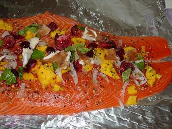 Salmon con Mango