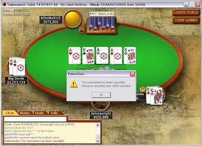 pokerstars fake