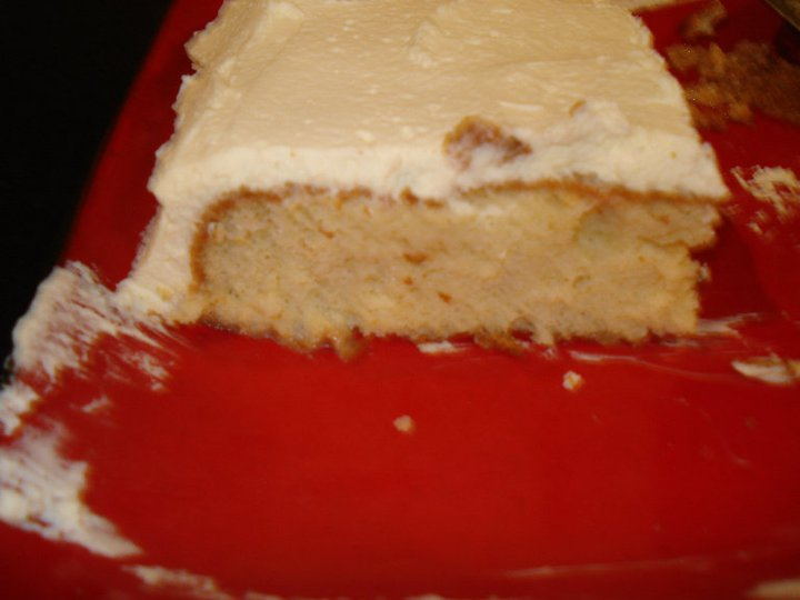 GRASSHOPPER COTTAGE: Tres Leches Cake...