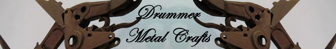Drummer Metal Crafts