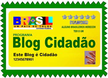SELO BLOG CIDADÃO