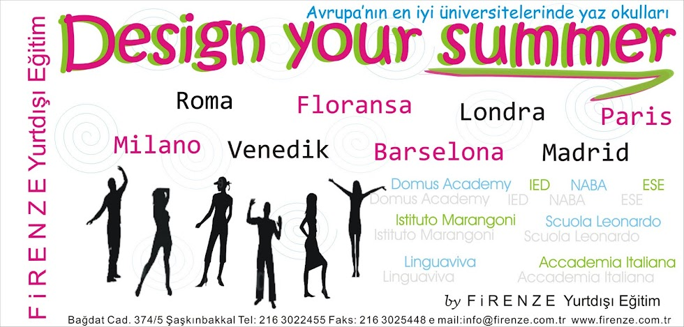 Design Your Summer with Firenze