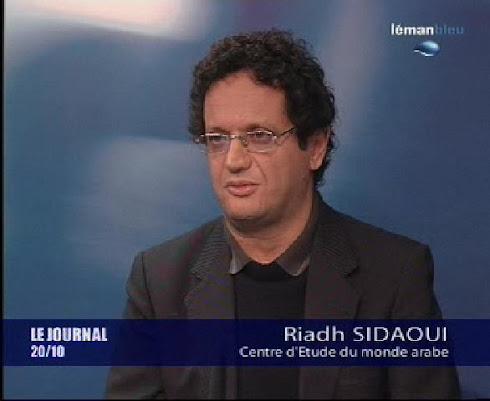 مشاركة المؤلف في التلفزيون السويسري: الأزمة الليبية السويسرية