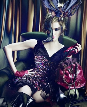 Louis Vuitton Madonna Ad Campaign for Fall Winter 2009 ...