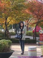 Elly Tran Ha / Elly Kim Hong / Elly Bồ Công Anh visiting South Korea