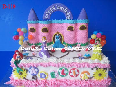 DaniQa Cakes & Traditional Snack: Kue ulang tahun princess for Adelia