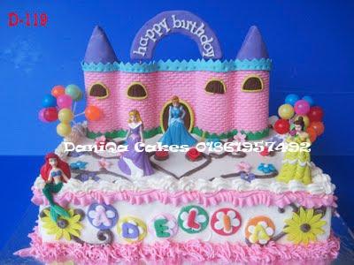 Kue ulang tahun princess for Adelia