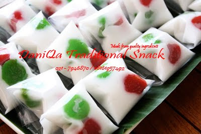DaniQa Cake and Snack: Kue Tadisional Mendut
