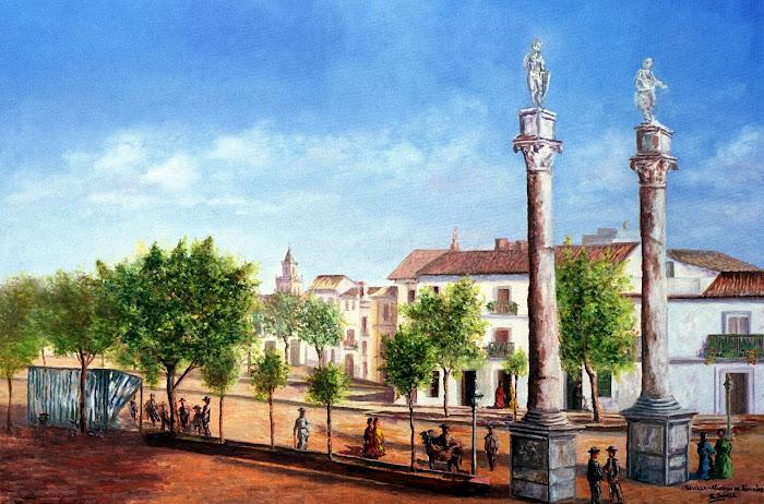 LA SEVILLA DE AYER. Alameda de Hércules a principios del s. XX