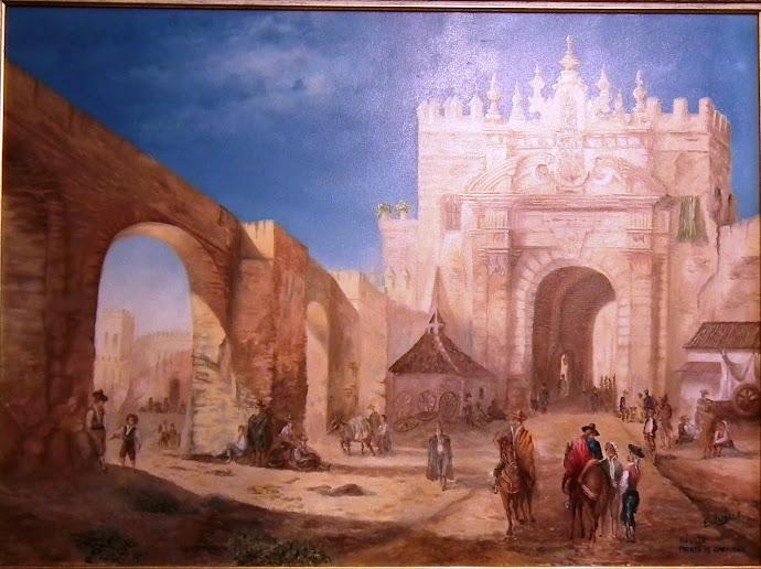 LA SEVILLA DE AYER. Puerta de Carmona