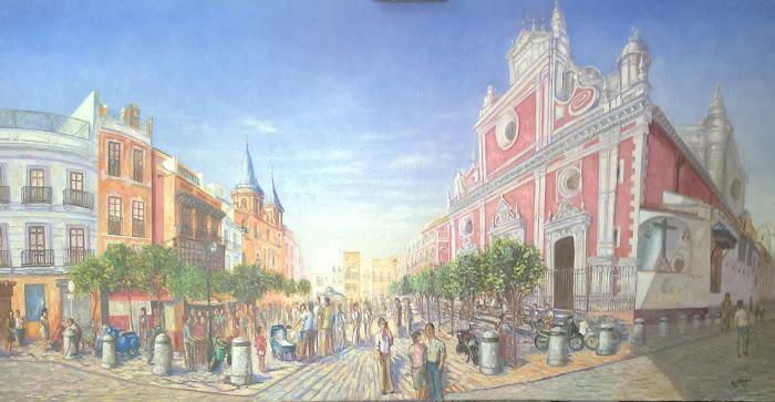 Sevilla. Plaza del Salvador.