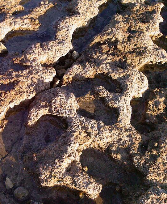 ROCKS UNDER FOOT