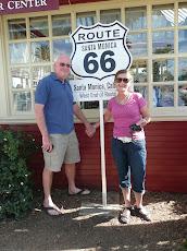 LA End of Route 66