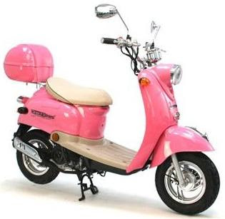Random but i wanna own one pink scooter scooter not motorbike