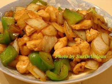 ... Cookings: Stir-fry Chicken and Bell Peppers with Black Pepper Sauce