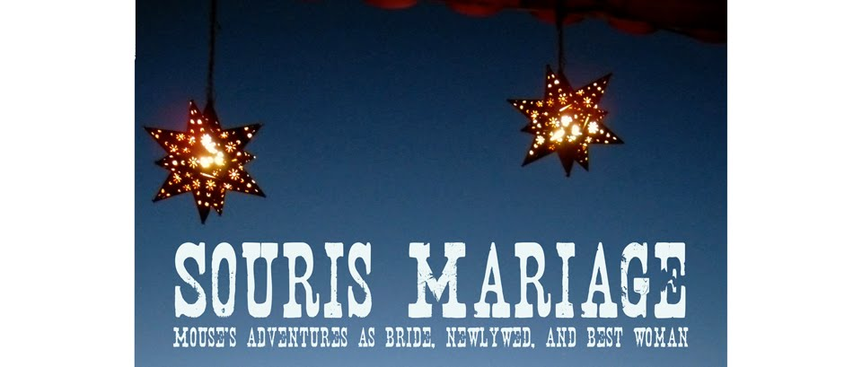 Souris Mariage: Mouse's Adventures as Bride, Newlywed, and Best Woman