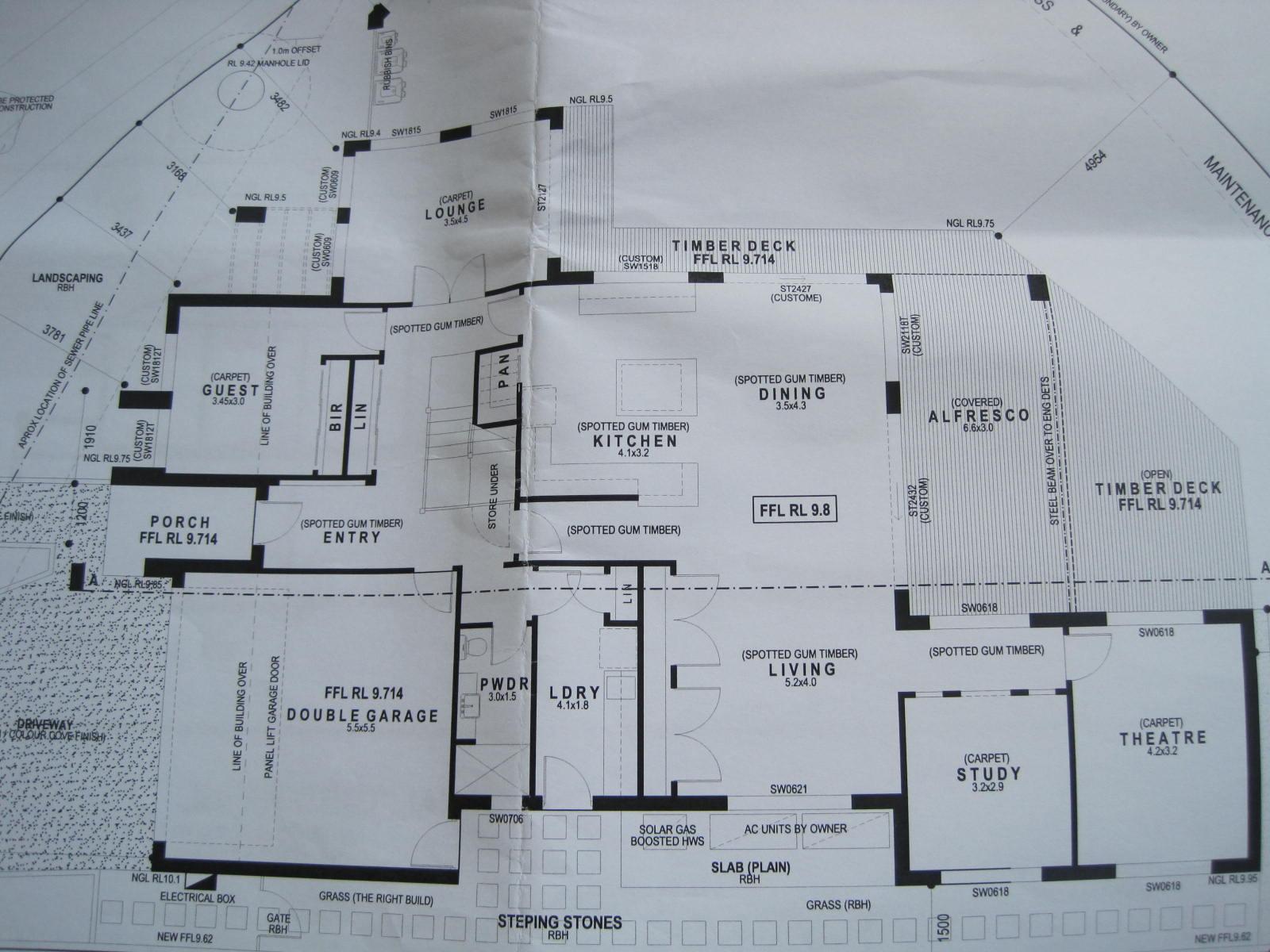 The Castle: Final House Plans