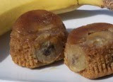 Banana Upside-Down Muffins