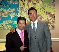 Oscar De La Hoya y MOGOLLAN