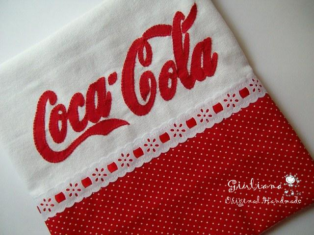 Coca Cola Tea Towel .