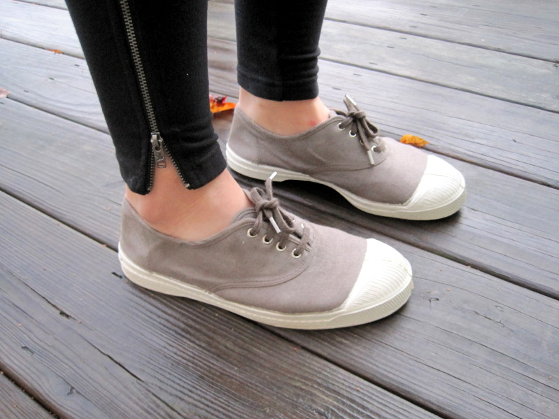 how to clean bensimon shoes