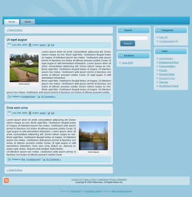 business wordpress theme 3 column