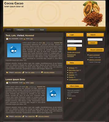 drupal theme free